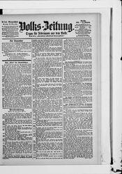 Volkszeitung (17.11.1901)