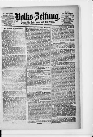 Volks-Zeitung vom 02.01.1903