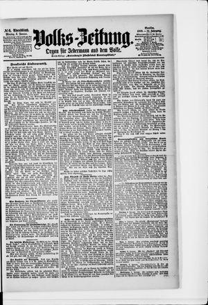 Volks-Zeitung vom 05.01.1903
