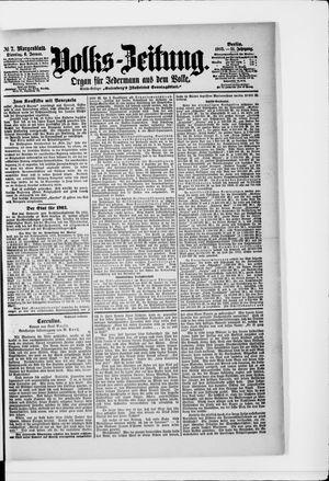 Volks-Zeitung vom 06.01.1903