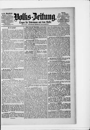 Volks-Zeitung vom 07.01.1903