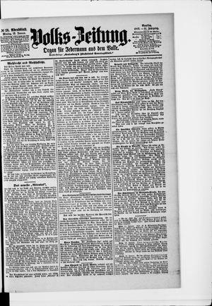 Volks-Zeitung vom 12.01.1903