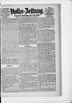 Volks-Zeitung vom 14.01.1903