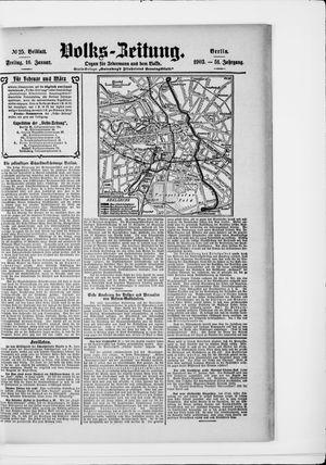 Volks-Zeitung vom 16.01.1903