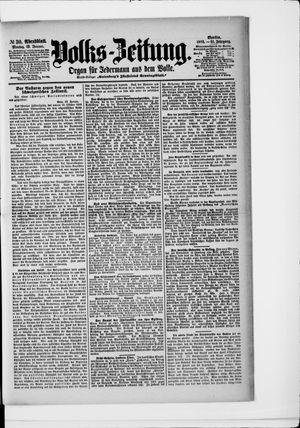 Volks-Zeitung vom 19.01.1903