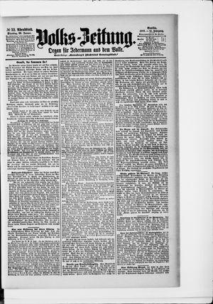 Volks-Zeitung vom 20.01.1903