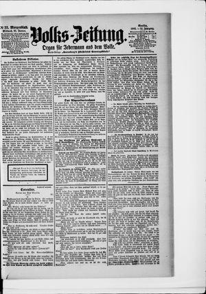 Volks-Zeitung vom 21.01.1903