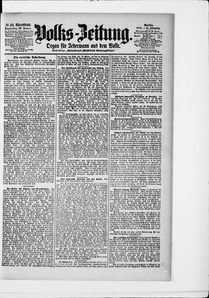 Volks-Zeitung vom 29.01.1903