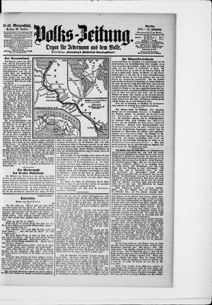 Volks-Zeitung vom 30.01.1903
