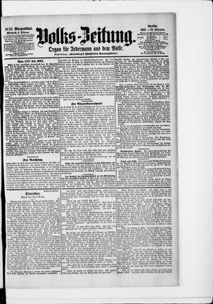 Volks-Zeitung vom 04.02.1903