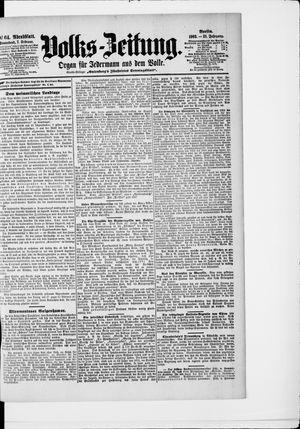Volks-Zeitung vom 07.02.1903