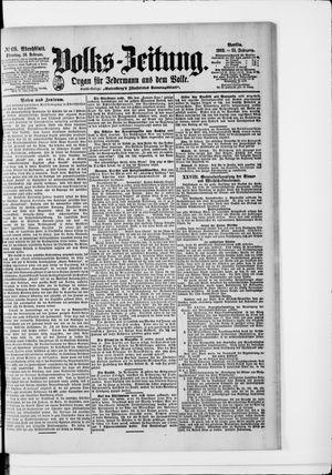 Volks-Zeitung on Feb 10, 1903