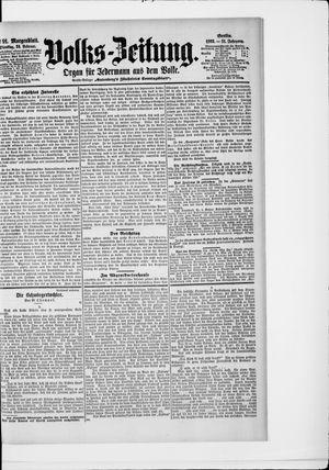 Volks-Zeitung vom 24.02.1903