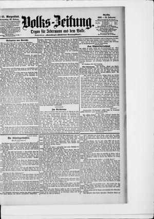 Volks-Zeitung on Feb 26, 1903
