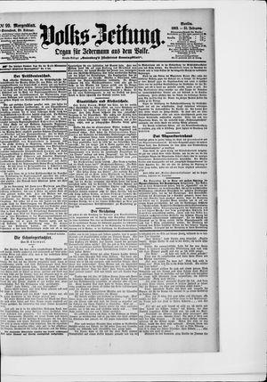 Volks-Zeitung vom 28.02.1903