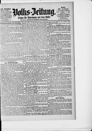 Volks-Zeitung vom 02.03.1903