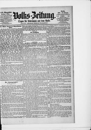 Volks-Zeitung vom 03.03.1903