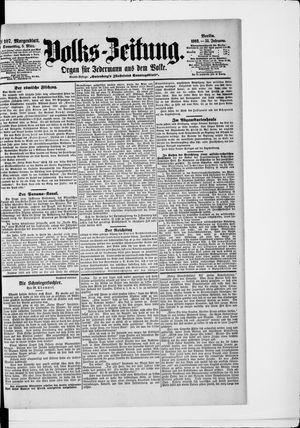 Volks-Zeitung vom 05.03.1903