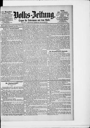 Volks-Zeitung vom 07.03.1903