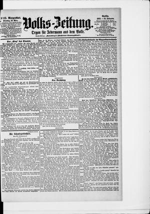 Volks-Zeitung vom 10.03.1903