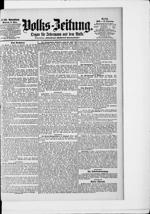 Volks-Zeitung on Mar 11, 1903