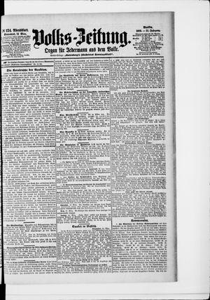 Volks-Zeitung vom 14.03.1903