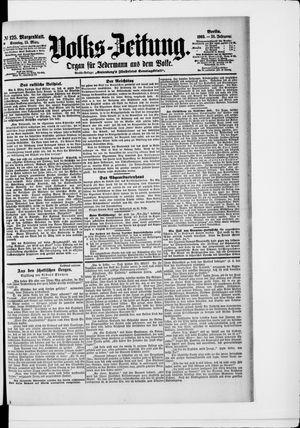Volks-Zeitung vom 15.03.1903