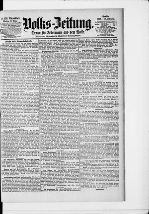 Volks-Zeitung vom 16.03.1903