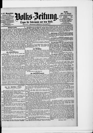 Volks-Zeitung vom 17.03.1903