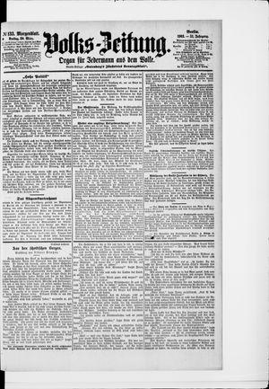 Volks-Zeitung vom 20.03.1903