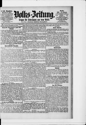 Volks-Zeitung on Mar 21, 1903