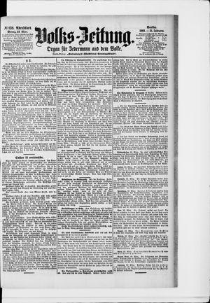 Volks-Zeitung vom 23.03.1903