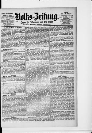 Volks-Zeitung vom 27.03.1903