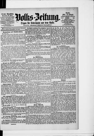 Volks-Zeitung vom 28.03.1903