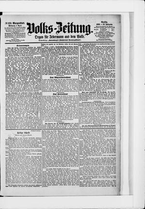 Volks-Zeitung vom 01.04.1903