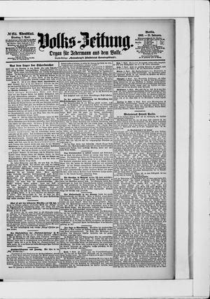 Volks-Zeitung vom 07.04.1903