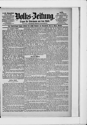 Volks-Zeitung vom 10.04.1903