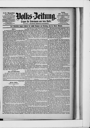 Volks-Zeitung vom 12.04.1903