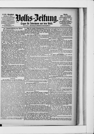Volks-Zeitung vom 14.04.1903