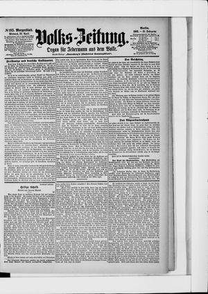 Volks-Zeitung vom 22.04.1903