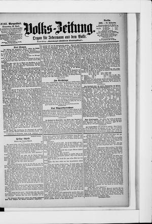 Volks-Zeitung on Apr 23, 1903