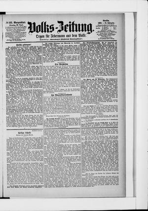 Volks-Zeitung vom 26.04.1903
