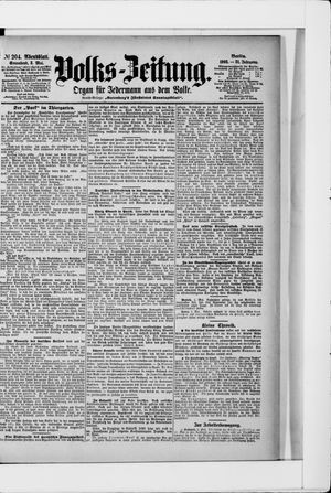 Volks-Zeitung vom 02.05.1903
