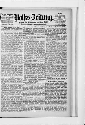Volks-Zeitung vom 04.05.1903