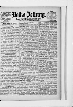 Volks-Zeitung vom 06.05.1903