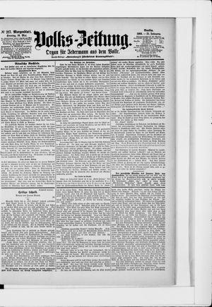 Volks-Zeitung vom 10.05.1903