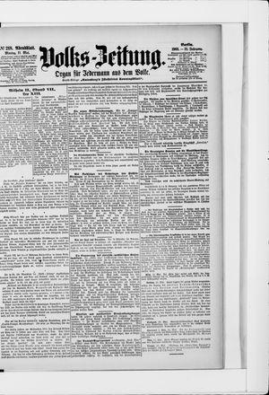 Volks-Zeitung vom 11.05.1903