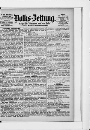 Volks-Zeitung vom 13.05.1903