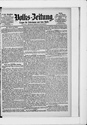 Volks-Zeitung vom 15.05.1903