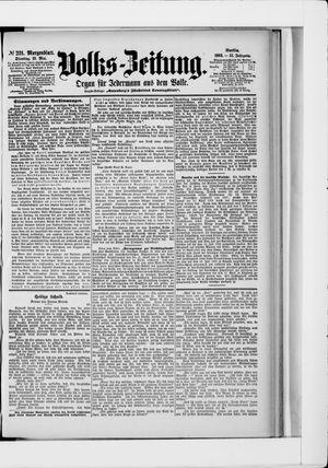 Volks-Zeitung vom 19.05.1903